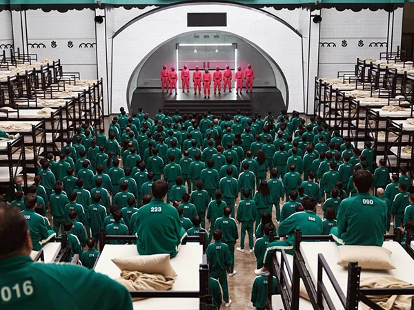 Игра в кальмара, сериал, Корея, фильм(2021)|Фото: kinopoisk.ru