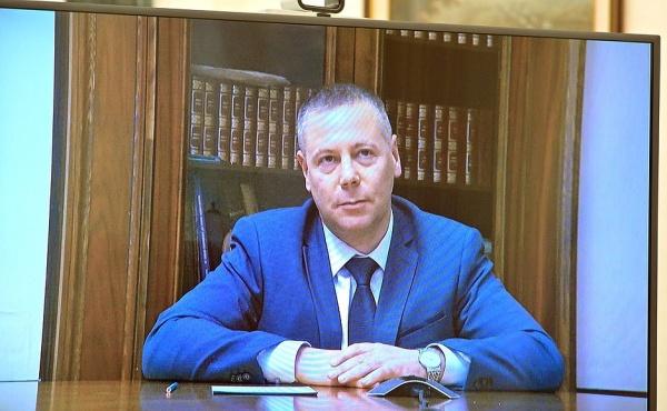 Врио губернатора Ярославской области Михаил Евраев.(2021) Фото: kremlin.ru / пресс-служба Кремля