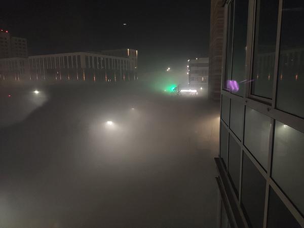 Смог в микрорайоне Солнечный Екатеринбурга(2021)|Фото: vk.com/swekb66