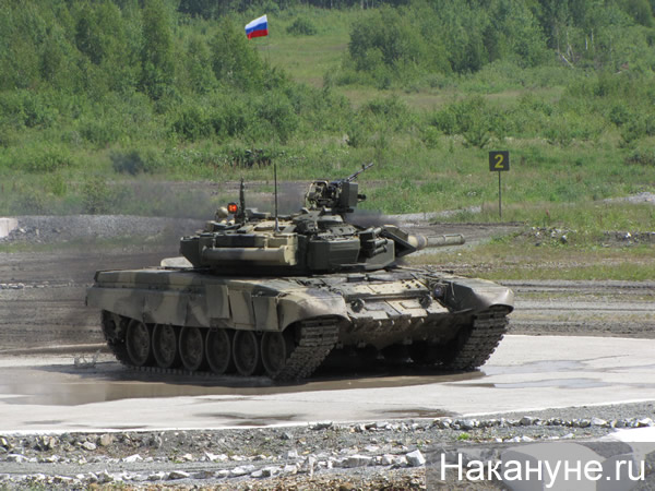 Танк Т-90С Фото:Накануне.RU