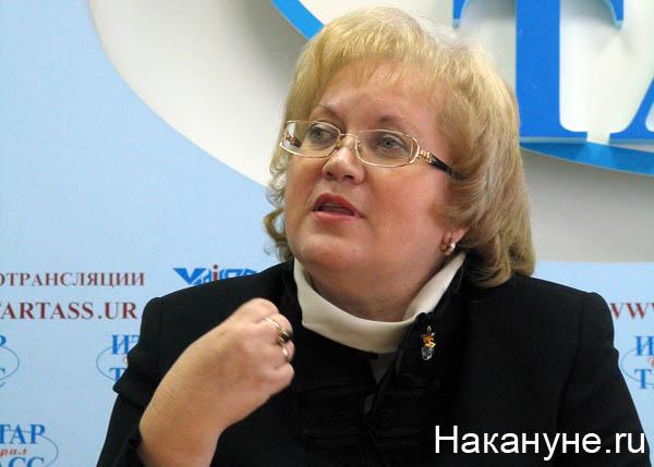 мерзлякова татьяна георгиевна уполномоченный по правам человека в свердловской области(2009)|Фото: Накануне.ru