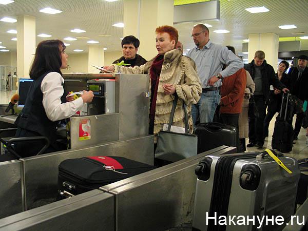 аэропорт регистрация багаж пассажир|Фото: Накануне.ru