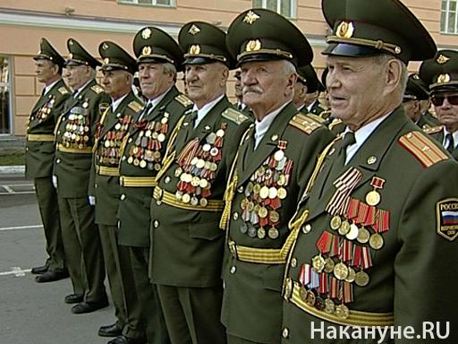 Ветераны на репетиции парада Победы(2010)|Фото: Накануне.Ru