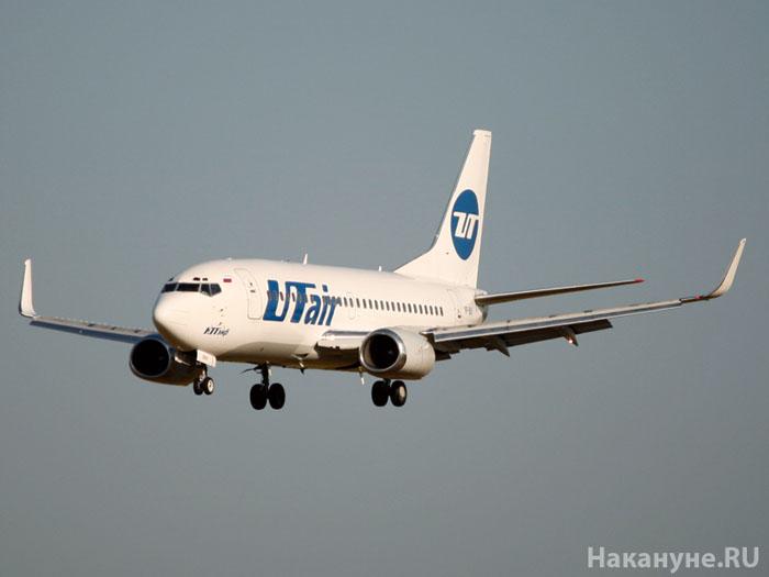 Boeing-737 Боинг самолет Ютэйр Utair полет|Фото: Накануне.RU