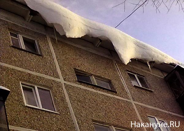 снег крыша|Фото: Накануне.RU