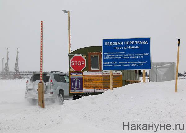 река надым ледовая переправа|Фото: Накануне.ru