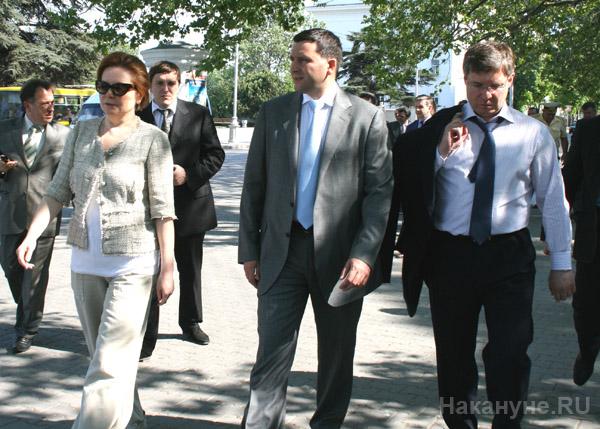 Наталья Комарова Дмитрий Кобылкин Владимир Якушев(2011)|Фото: Накануне.RU