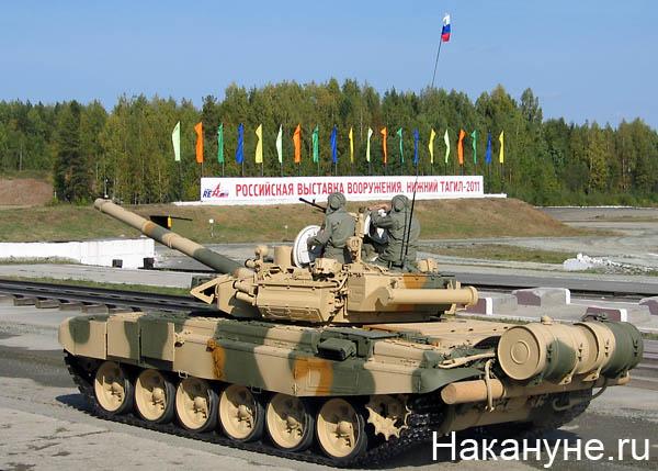 нижний тагил выставка вооружений танк т-72 Фото: Накануне.ru