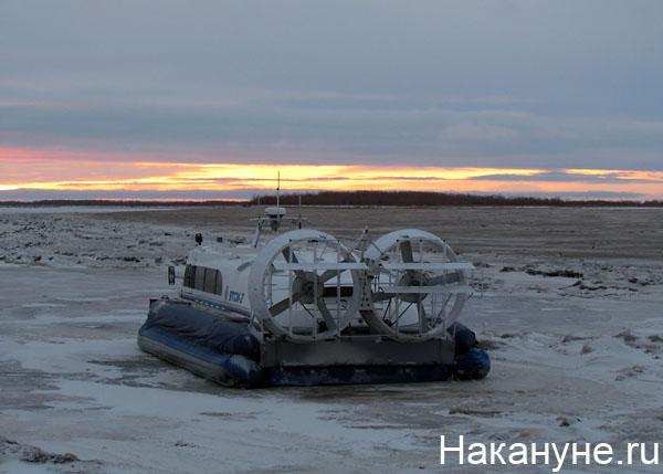переправа салехард-лабытнанги судно на воздушной подушке|Фото: Накануне.ru