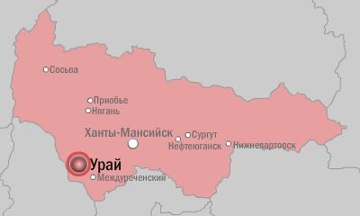 Урай-карта|Фото: Накануне.RU