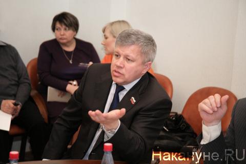 спикер Курганской областной думы Владимир Казаков|Фото: Накануне.RU