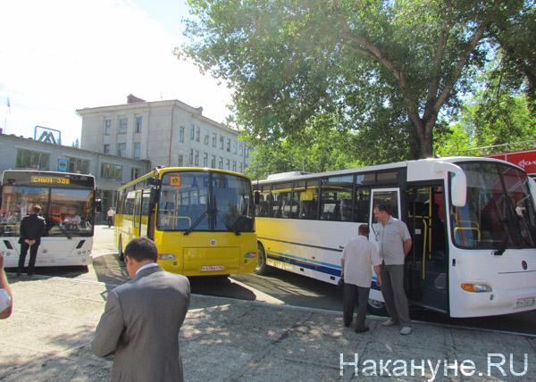 автобусы КАВЗ Курган|Фото: Накануне.RU