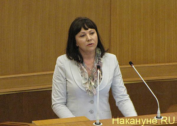 Галина Кулаченко министр финансов Свердловской области Фото: Накануне.RU