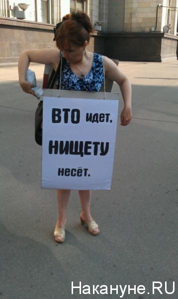митинг про ВТО около Госдумы|Фото:Накануне.RU