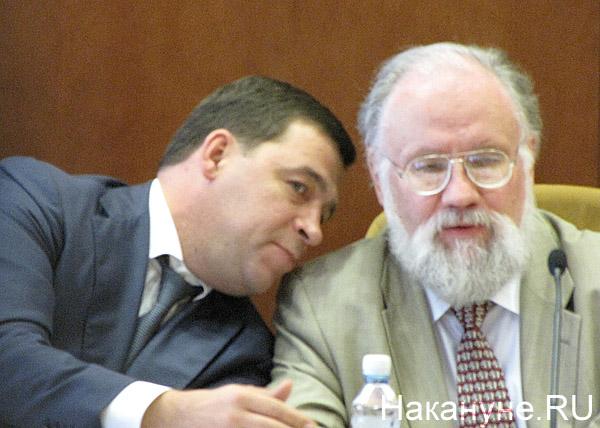 Евгений Куйвашев Владимир Чуров|Фото: Накануне.RU