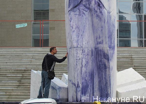 памятник Ельцину(2012)|Фото: Накануне.RU