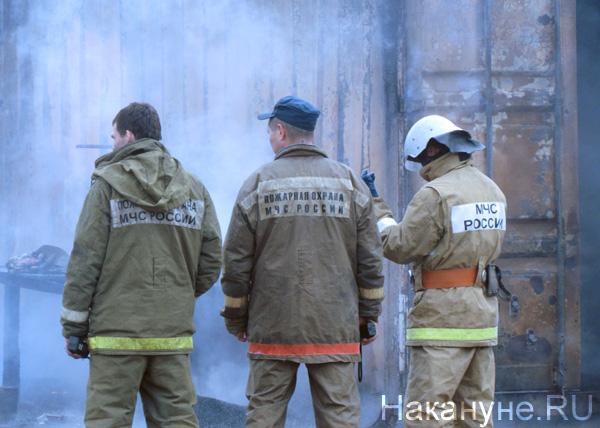 Пожар Пыть-Ях микрорайон Мамонтово(2019)|Фото: vk.com