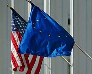 США, Евросоюз, флаг|Фото:podrobnosti.ua