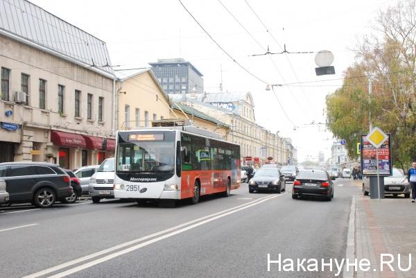 троллейбус, движение, Москва|Фото:Накануне.RU