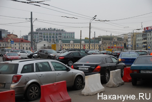 парковка машин, Тверская застава, Москва|Фото:Накануне.RU