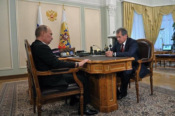 путин, шойгу|Фото: президент.рф