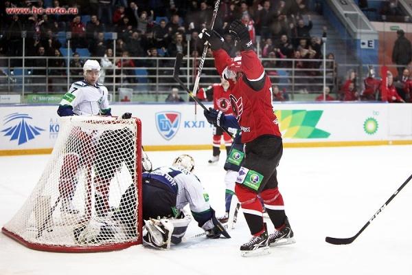 хоккей, Автомобилист, Югра, гол|Фото: http://www.hc-avto.ru/