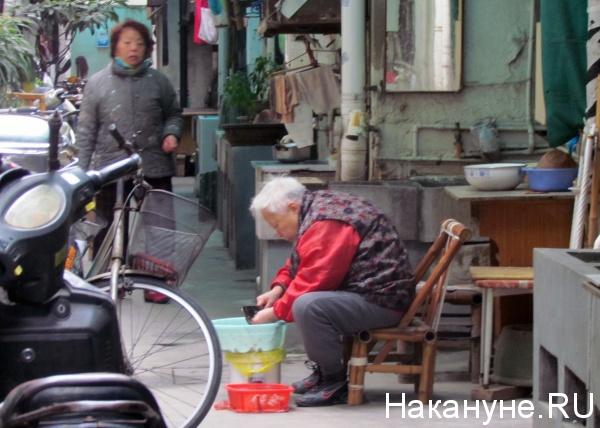 китай шанхай бедность(2012)|Фото: Накануне.RU