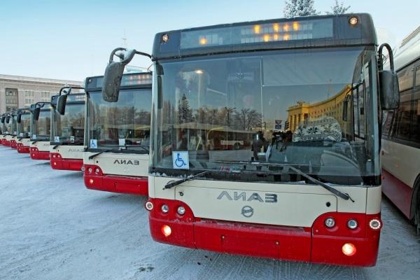 новые автобусы Челябинск|Фото:gubernator74.ru