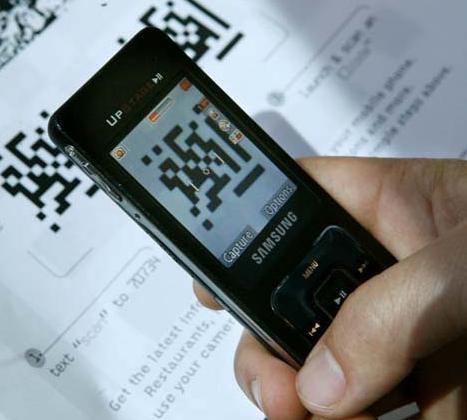 QR код, телефон|Фото:
