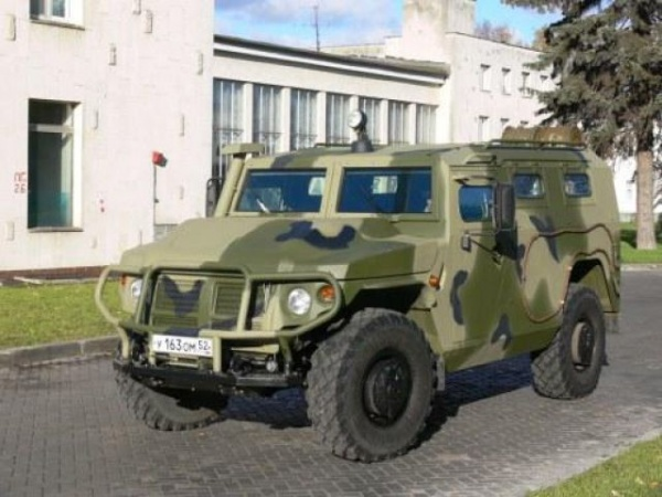 Бронеавтомобиль Тигр-М|Фото:http://www.zr.ru