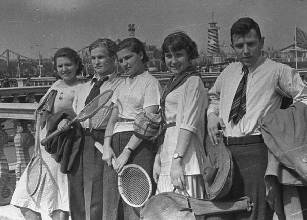 москва 1938 год молодежь ссср|Фото:
