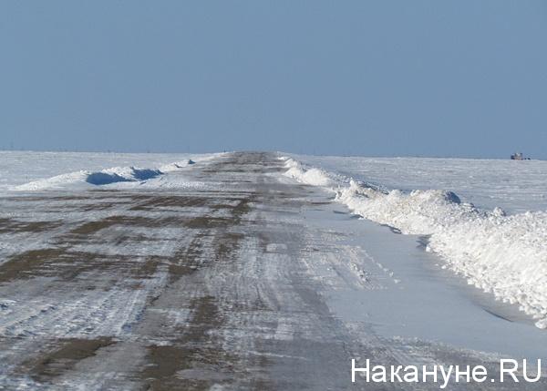 автодорога салехард-надым(2013)|Фото: Накануне.ru