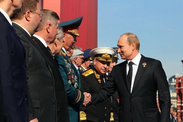 парад победы, день победы, владимир Путин|Фото: пресс-служба кремля