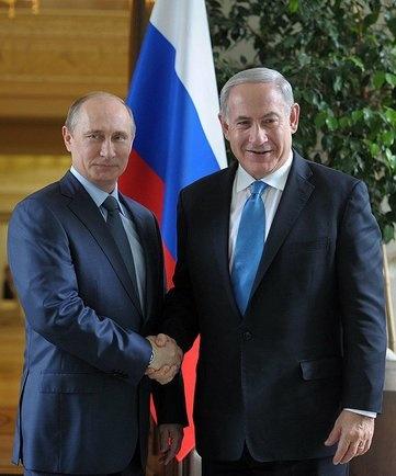 Владимир Путин, Биньямин Нетаньяху|Фото:kremlin.ru