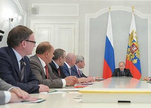 александр бурков владимир путин|Фото: пресс-служба кремля
