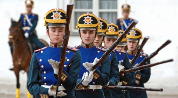 президентский полк, Кремль, развод караулов(2013)|Фото:strana.ru
