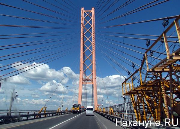 югорский мост река обь Фото: Накануне.ru