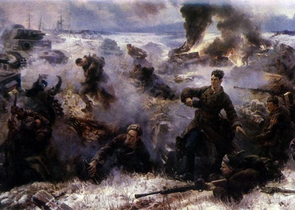 28 панфиловцев, с картины В. Панфилова|Фото: