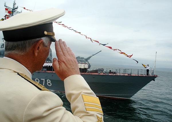 Тихоокеанский флот, празднование дня ВМФ|Фото: минобороны.рф