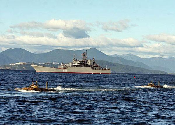 Тихоокеанский флот, учения(2013) Фото: минобороны.рф