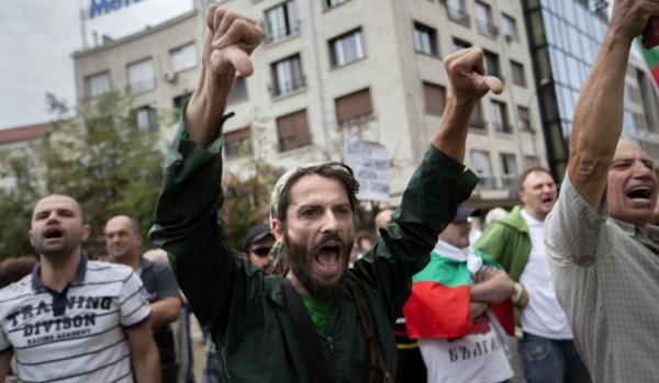 Болгария, протесты, баррикады|Фото:rus.ruvr.ru