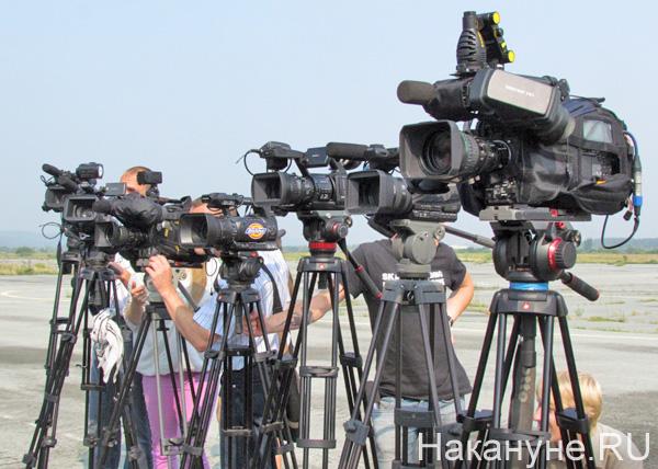 журналисты сми видеокамера|Фото: Накануне.RU