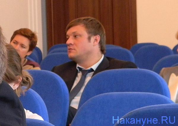 вице-губернатор Челябинской области Николай Сандаков на учредительной конференции ОНФ в Челябинске|Фото: Накануне.RU