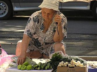 Бабушка, торговля, несанкционированная торговля|new-sebastopol.com