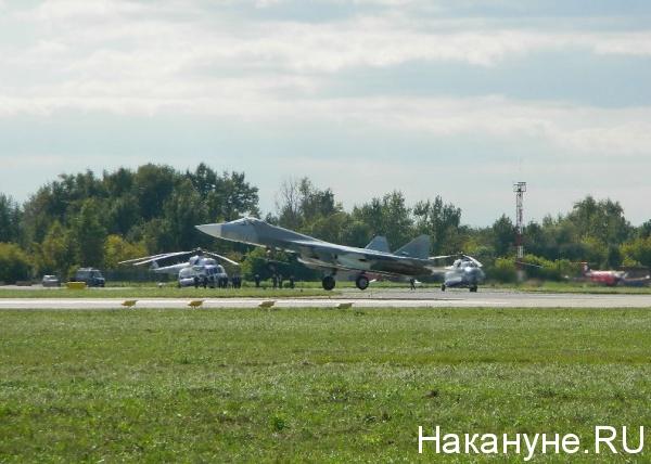самолет Т-50 ПАК ФА|Фото: Накануне.RU