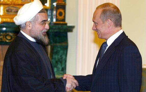 Владимир Путин и президент Ирана Хасан Роухани|Фото: http://inotv.rt.com