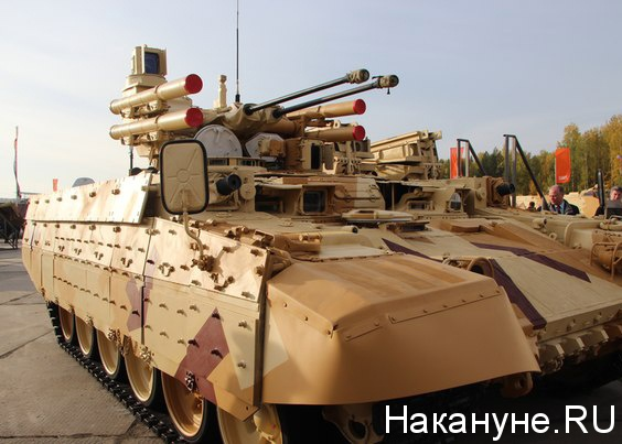 Russia Arms Expo 2013 терминатор БМПТ|Фото: Накануне.RU