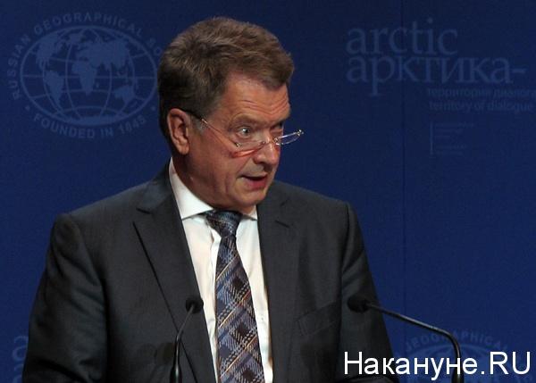 ниинистё саули вяйнямё президент финляндии|Фото: Накануне.ru