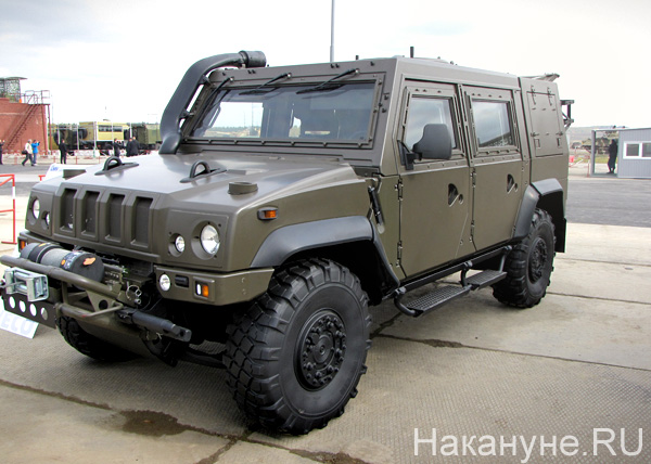 Russia Arms Expo 2013, RAE, рысь | Фото: Накануне.RU