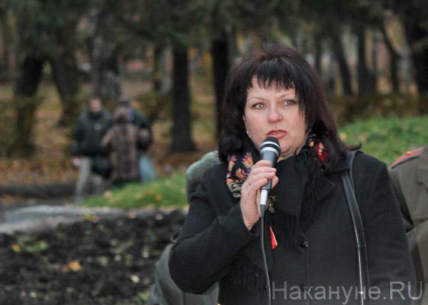шествие КПРФ, Кукушкина|Фото: Накануне.RU